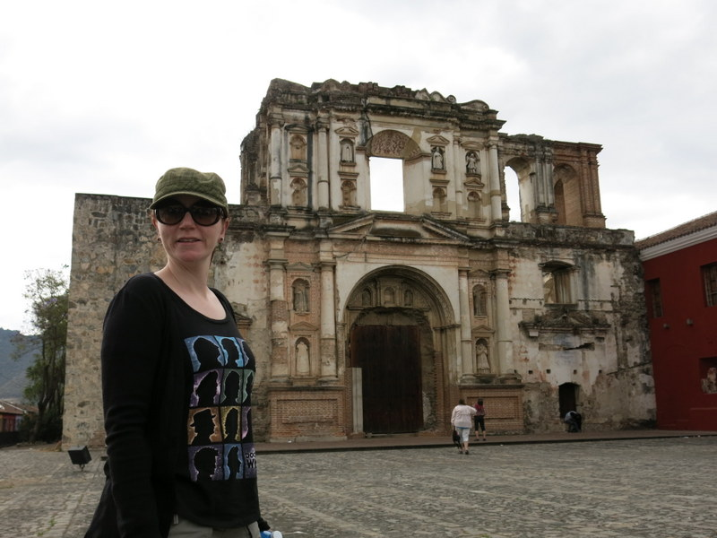 More Antigua Ruins (and Kate being an absolute trooper)