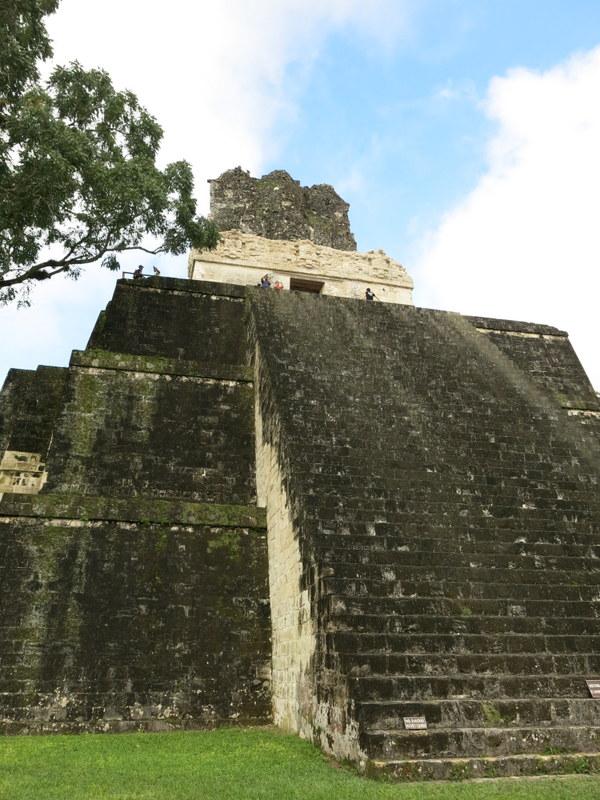 Each pyramid bigger than the last