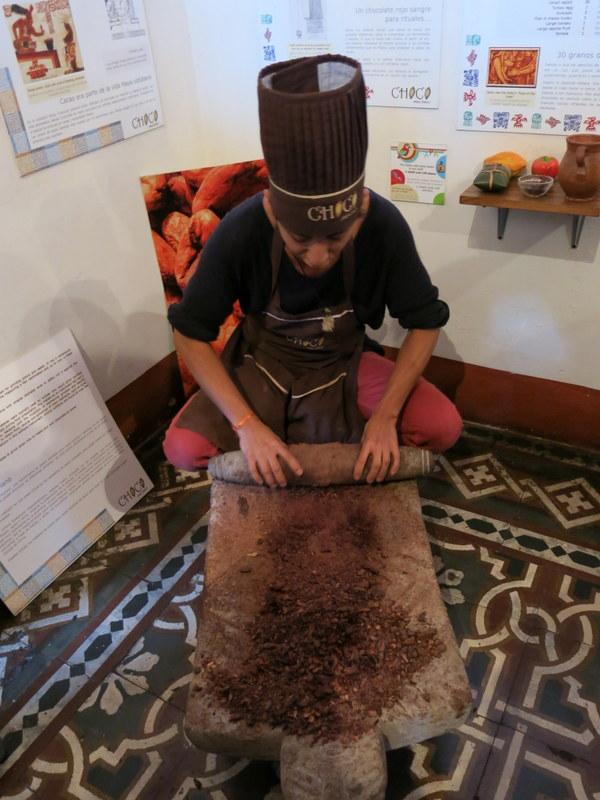 Making chocolate the hard way