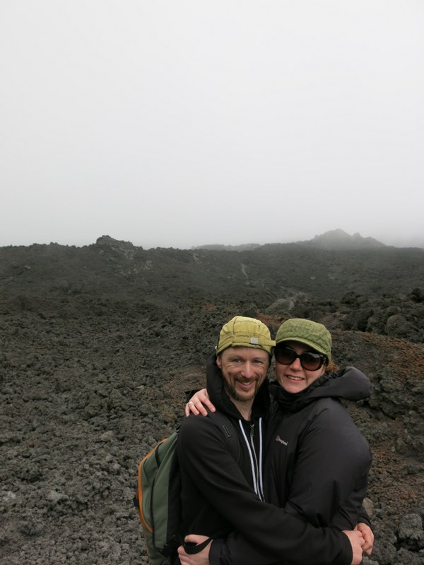 Hanging out in the lava field