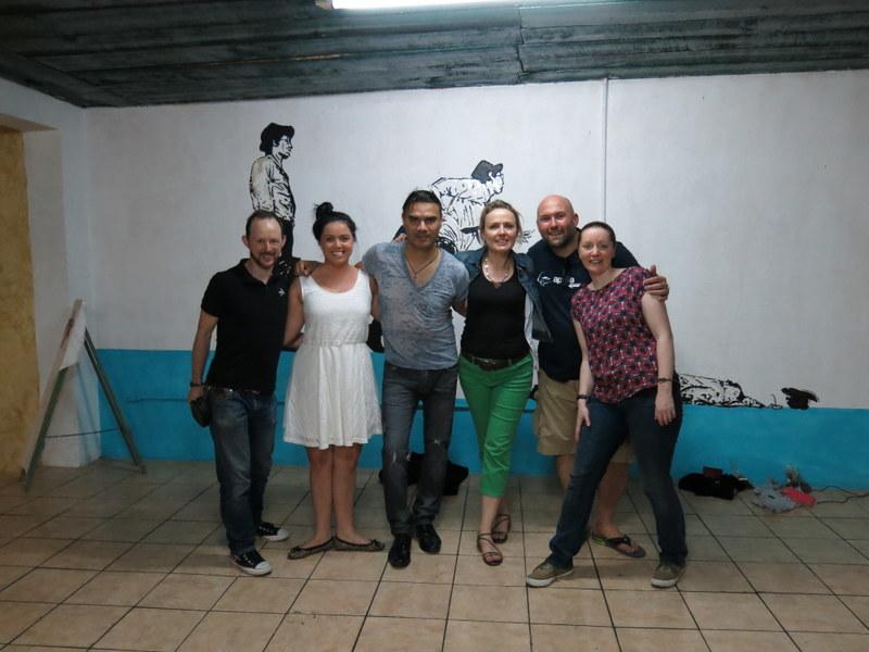 The Salsa troupe