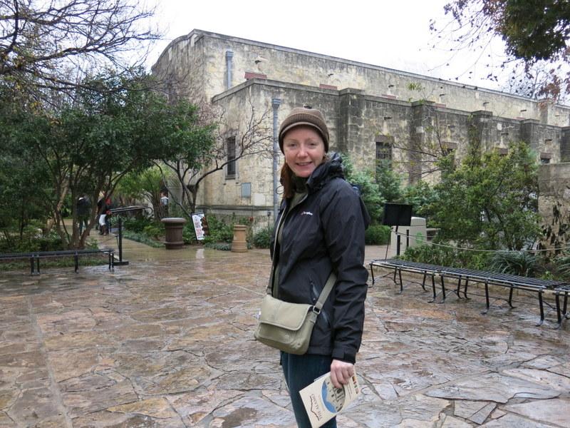 Wandering the Alamo