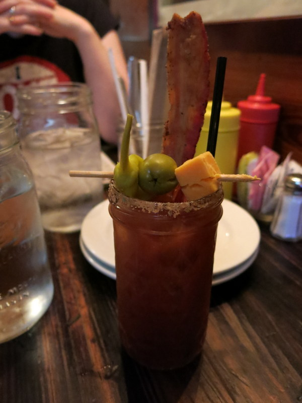 Mmm... bacon bloody mary