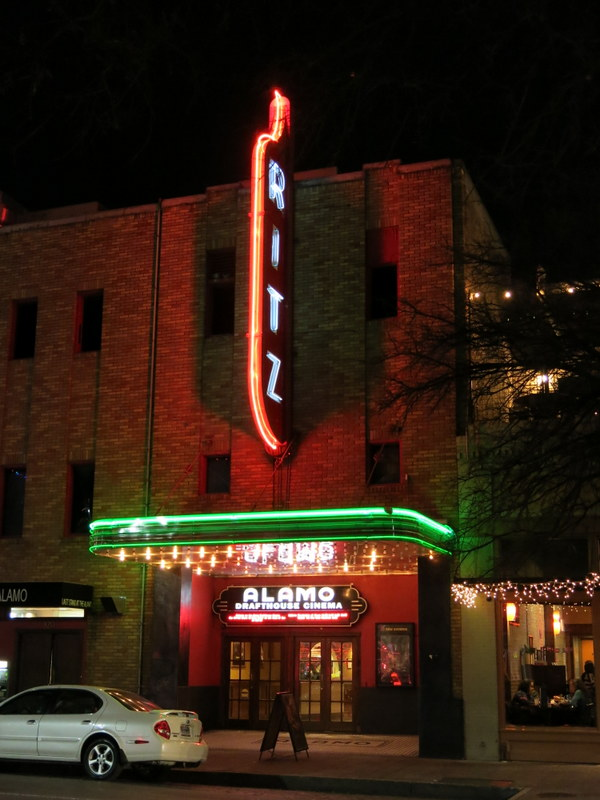 The famous Alamo Drafthouse Ritz