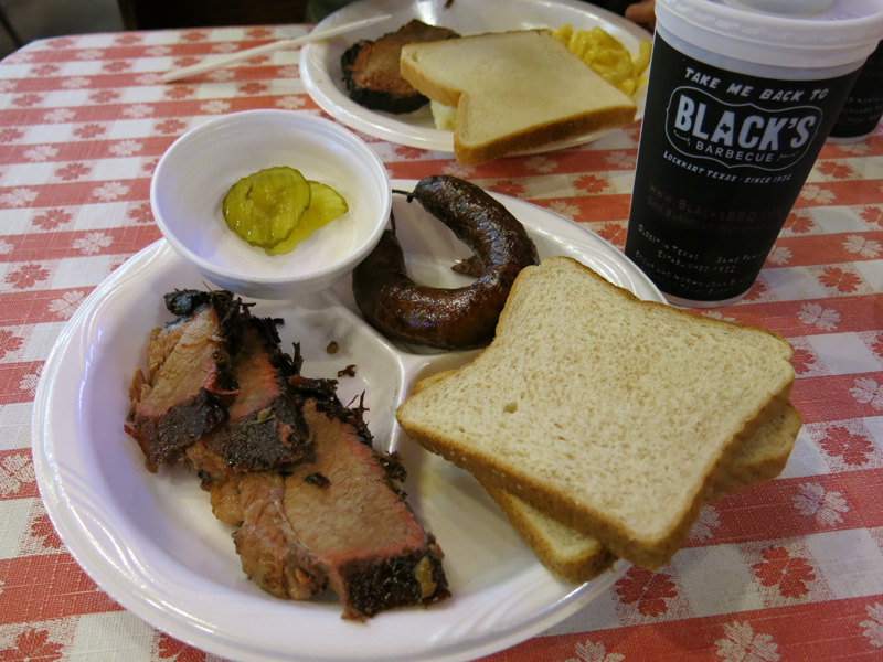 I love the simplicity of Texas barbecue