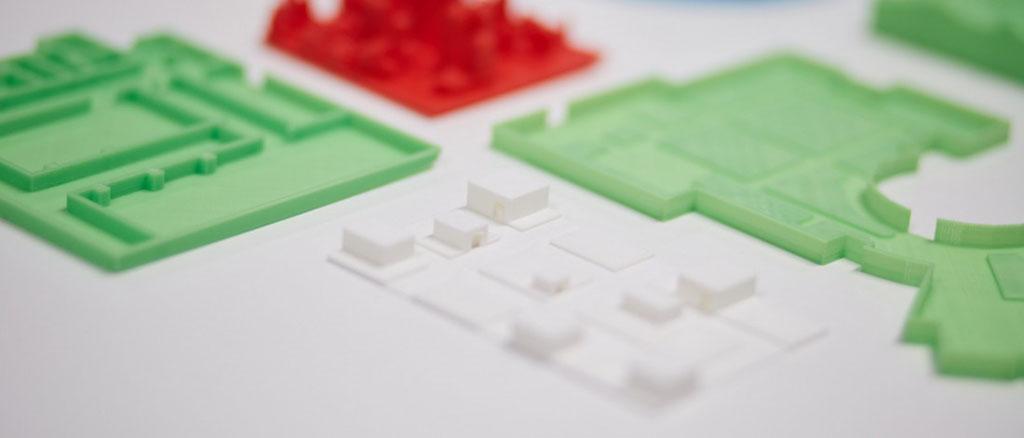 3D Printed Floor Plans