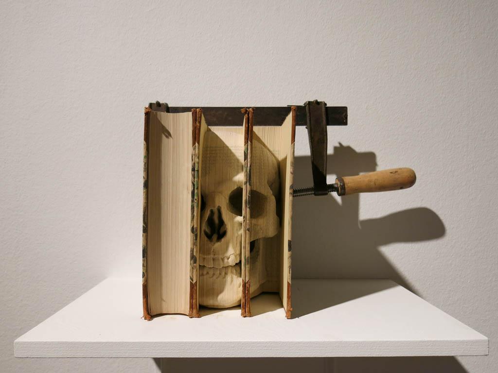 i do like me a bookish skull