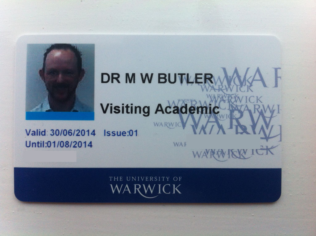 it's official! i'm a visiting academic