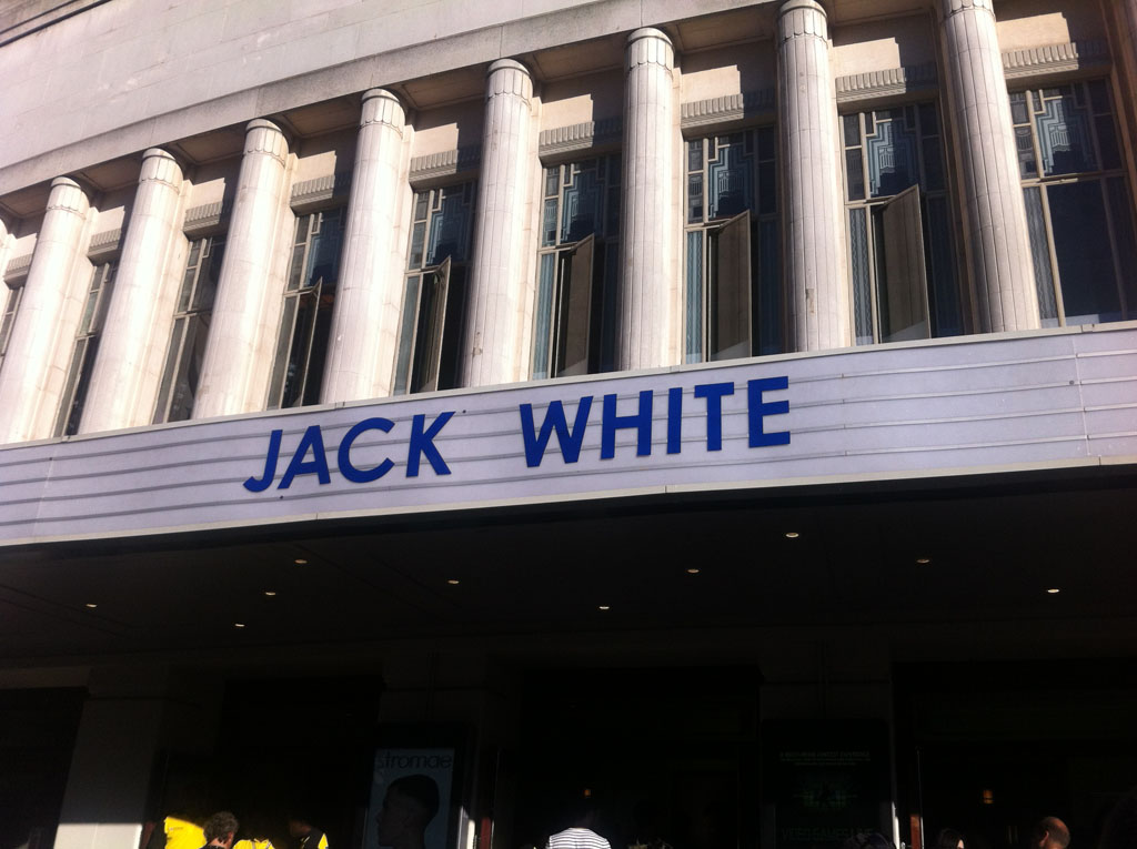 oh yeah, jack white