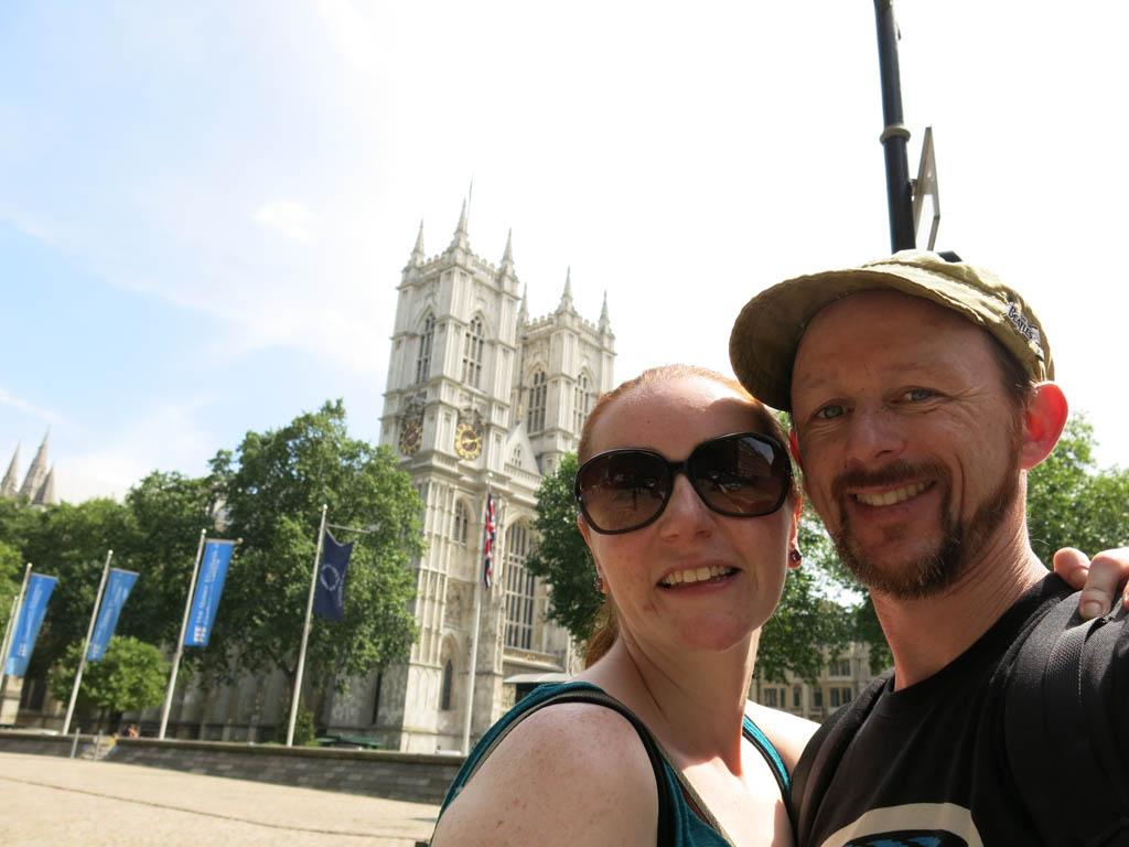 Kate's in London!