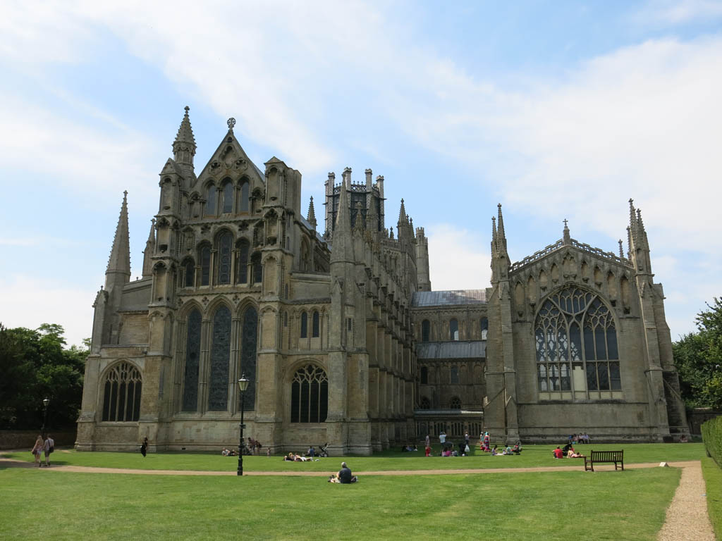 the impressive ely cathedral