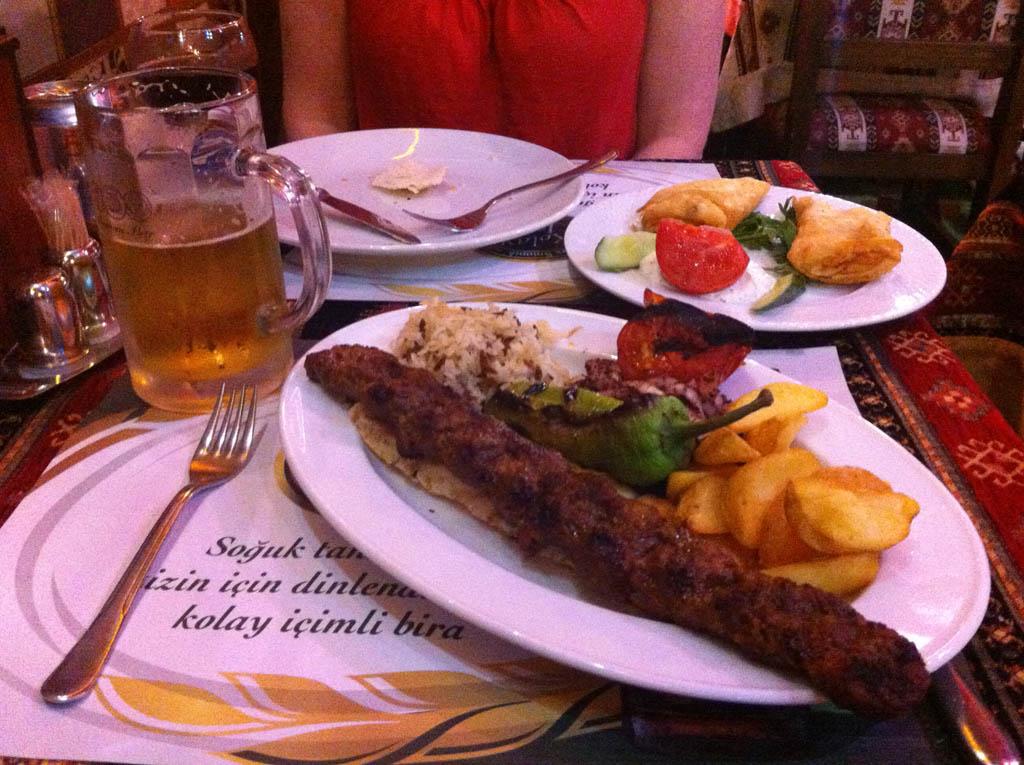 mmm... kebab
