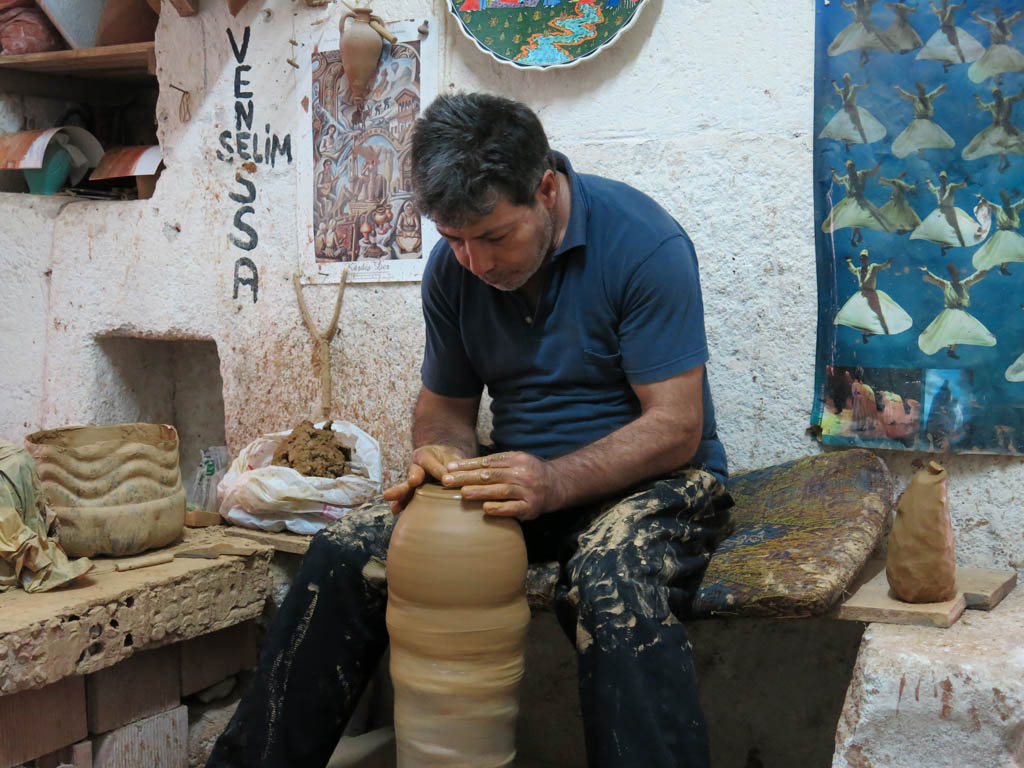 meeting the pottery master
