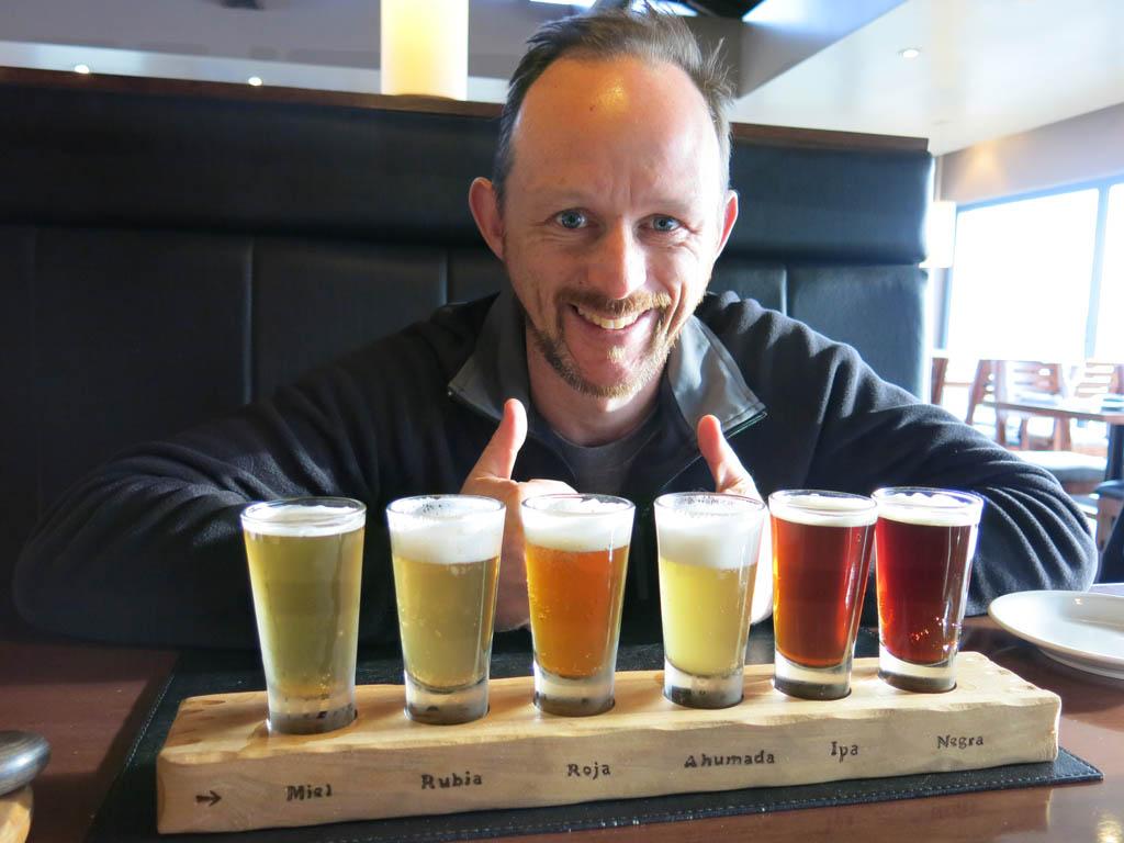mmmm... beer sampler