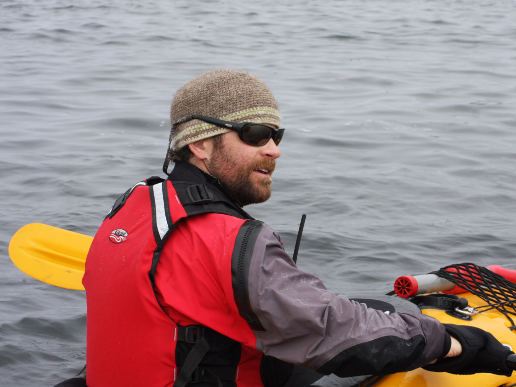my amazing kayak guide, Mark