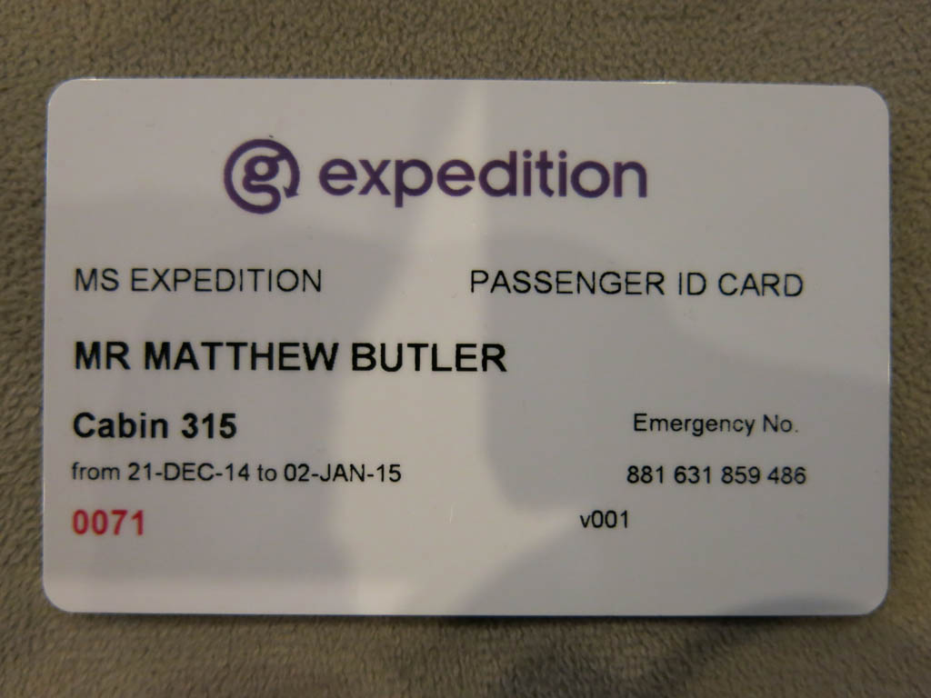 my ticket to the antarctic