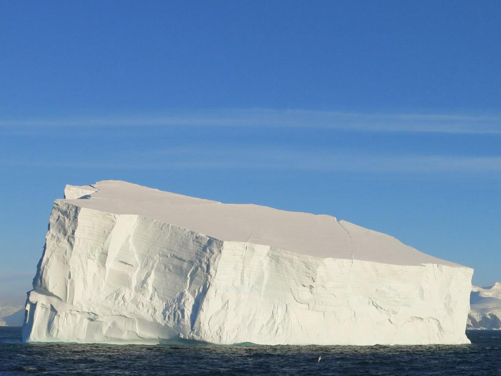 evening iceberg