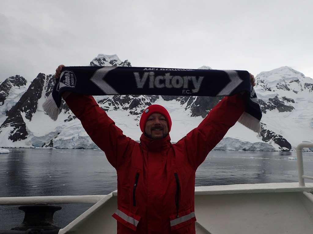 there's only one team in antarctica
