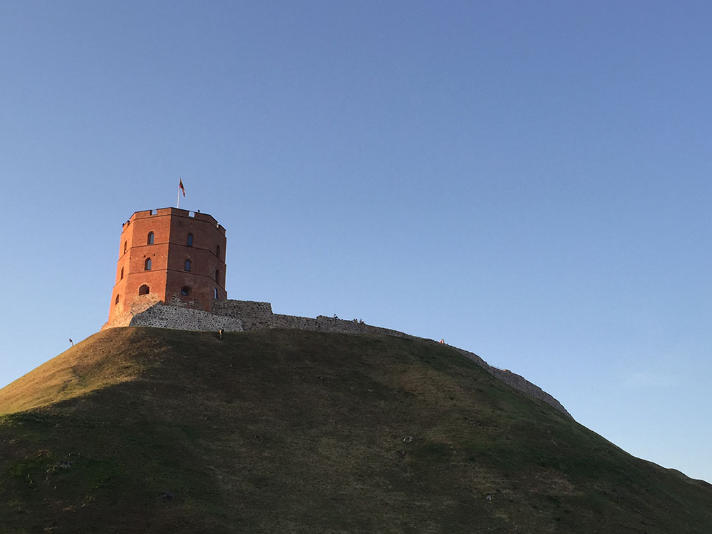 tower on the hill