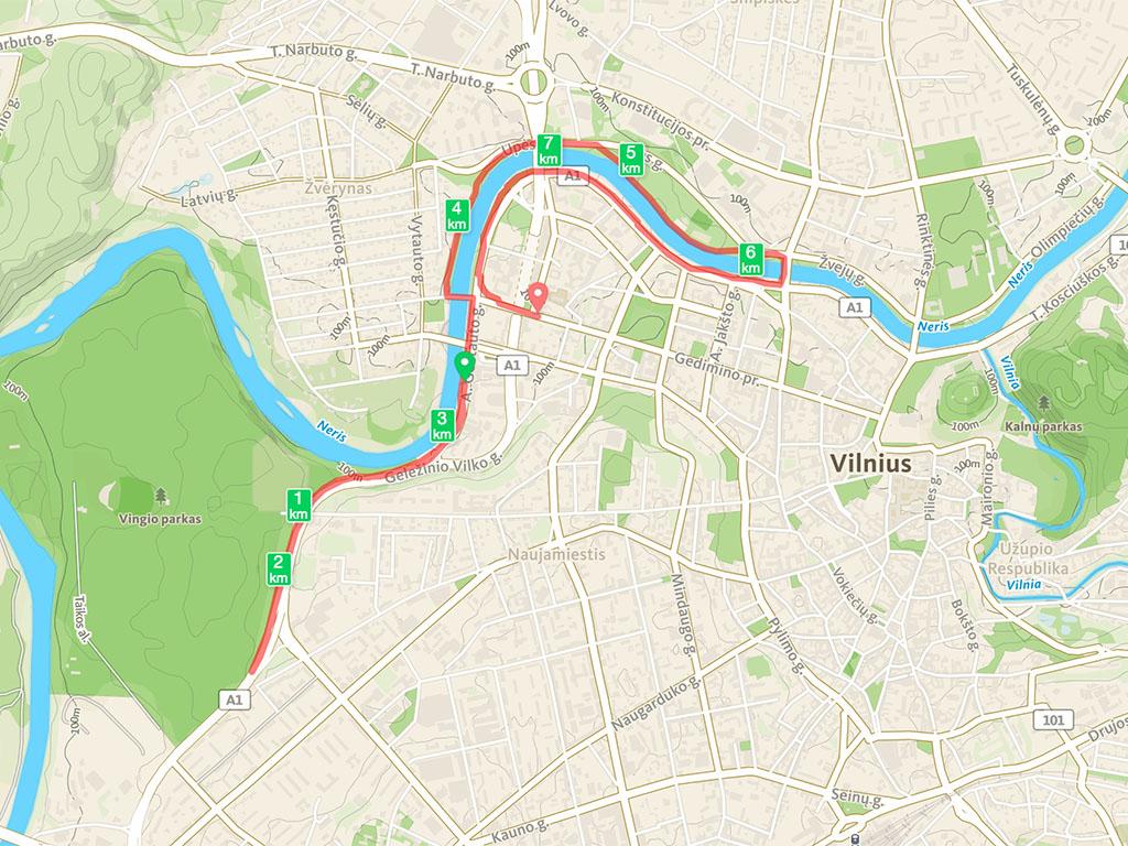 running vilnius