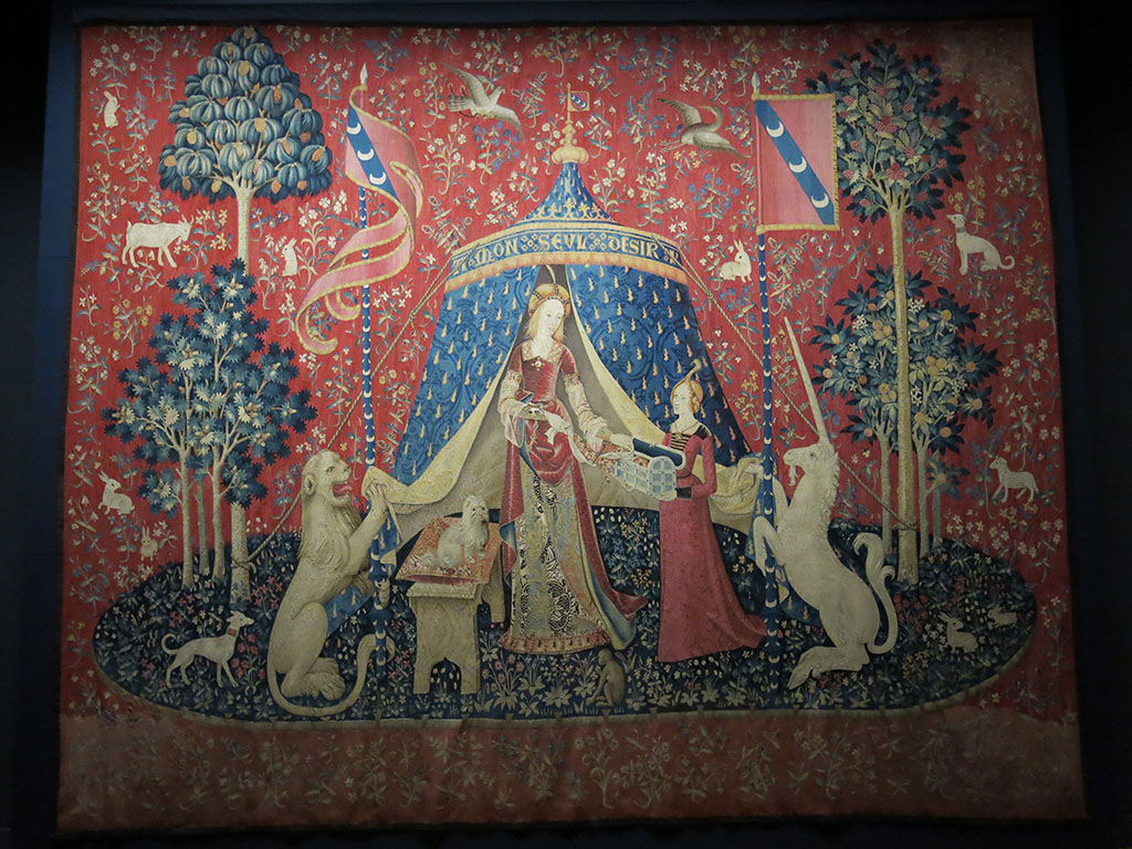the 6th mystery tapestry