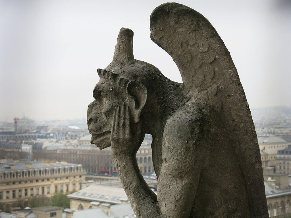 the coolest gargoyle