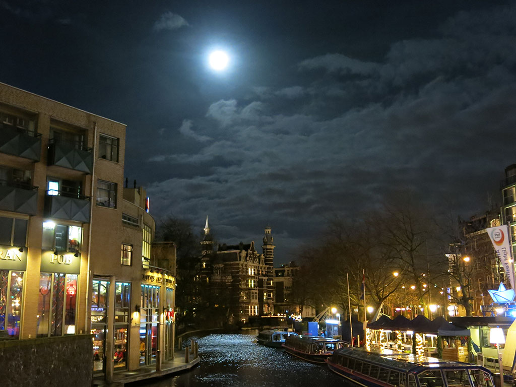 amsterdam by moonlight