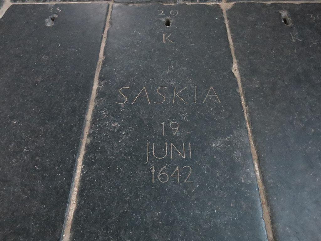 saskia's tomb