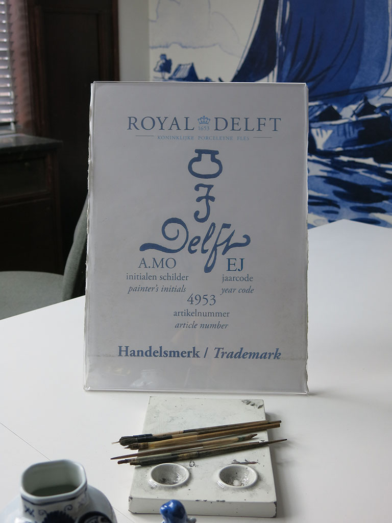 the royal delft seal