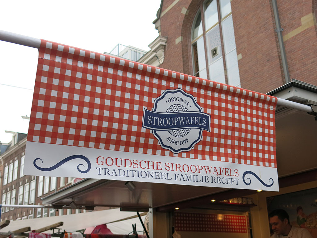 the famous stroopwafel