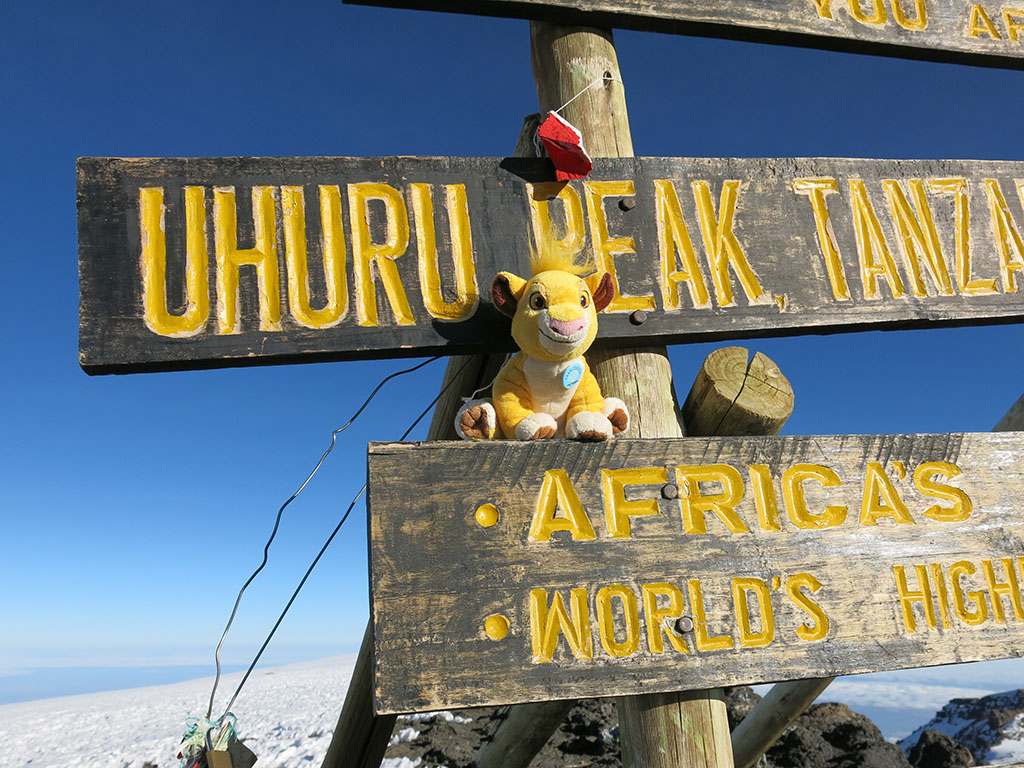uhuru peak! the highest in africa!