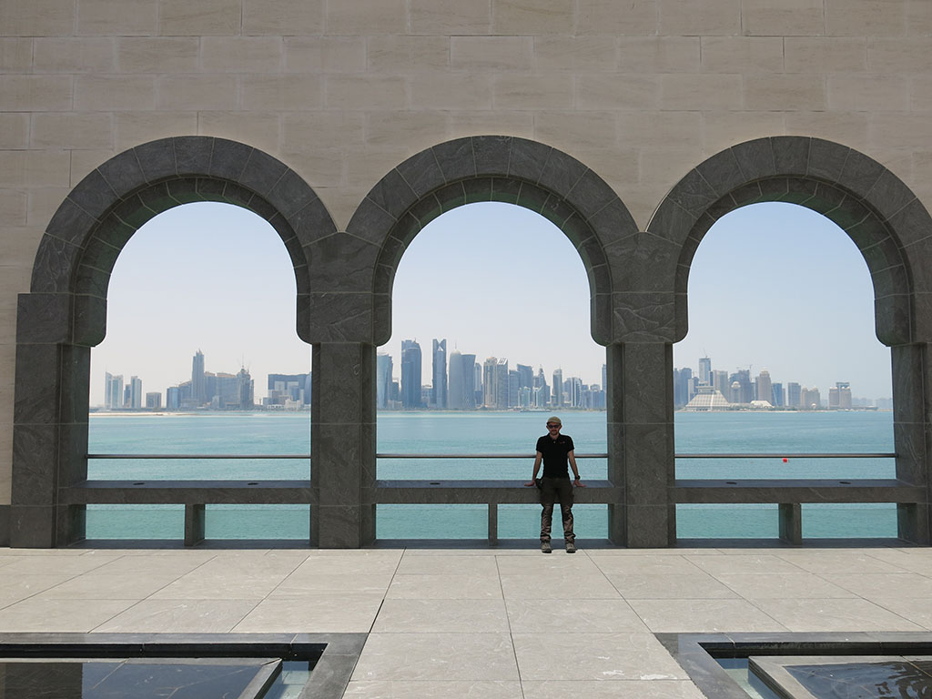 hanging out in doha